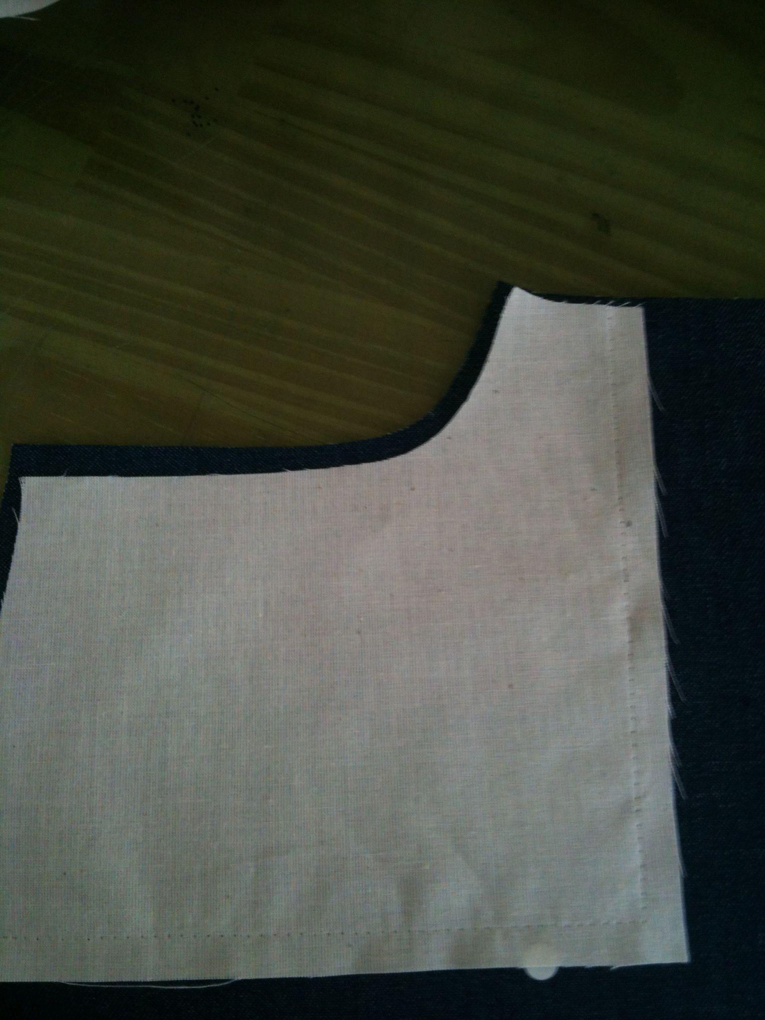 パンツの脇ポケットの縫い方