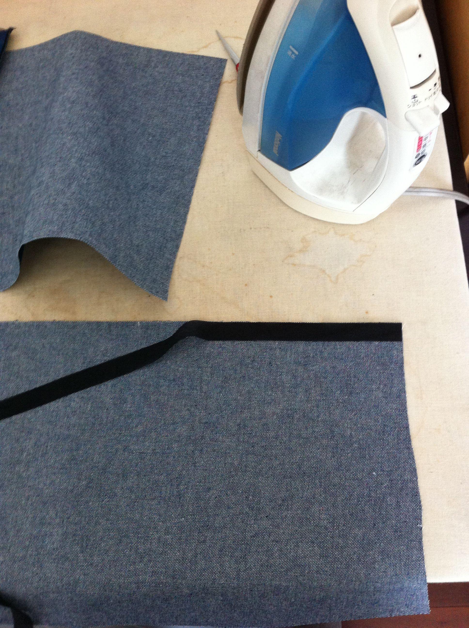 ファスナーの縫い方