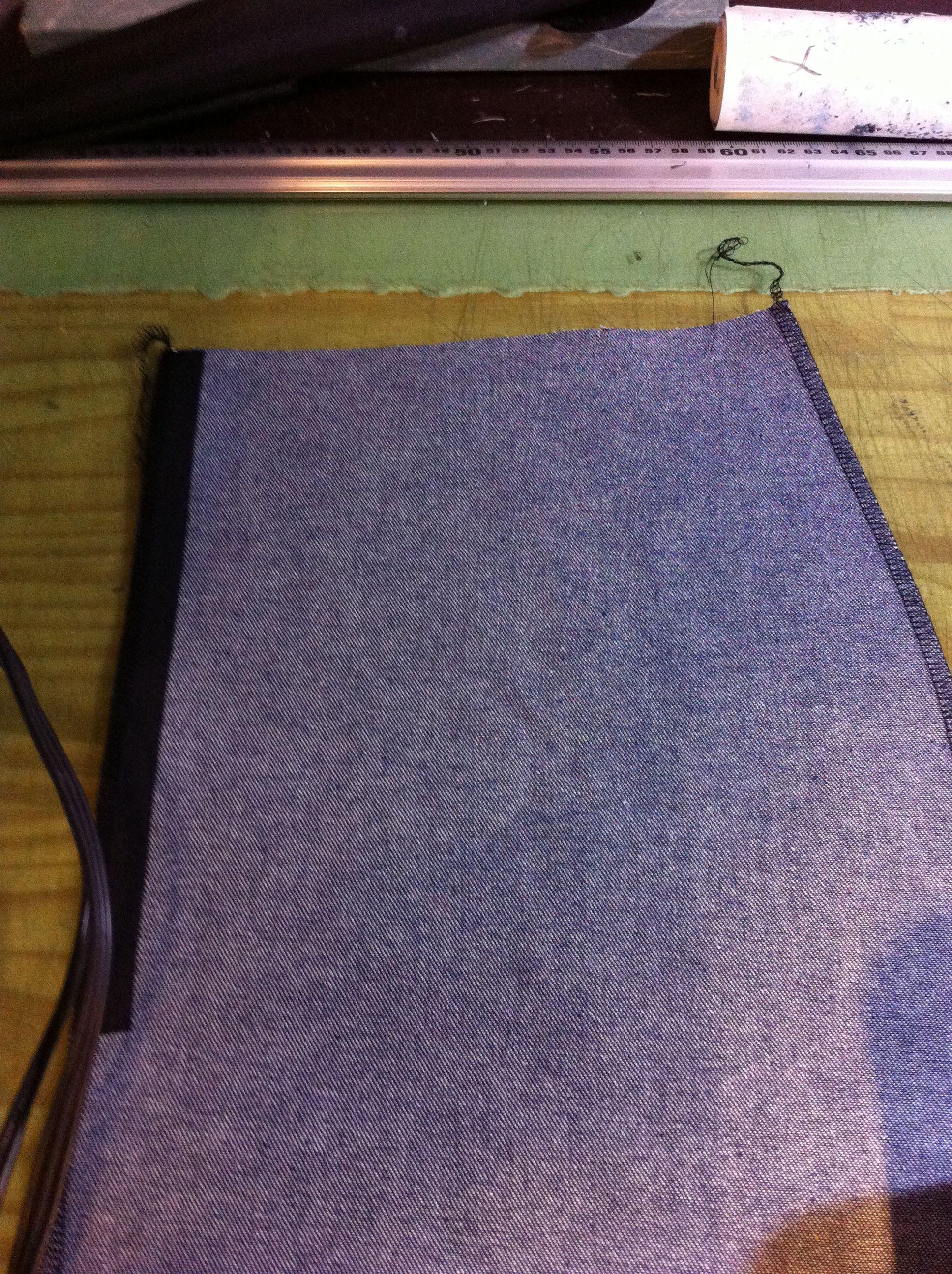 フレアスカートの作り方(コンシールファスナーの縫い方)