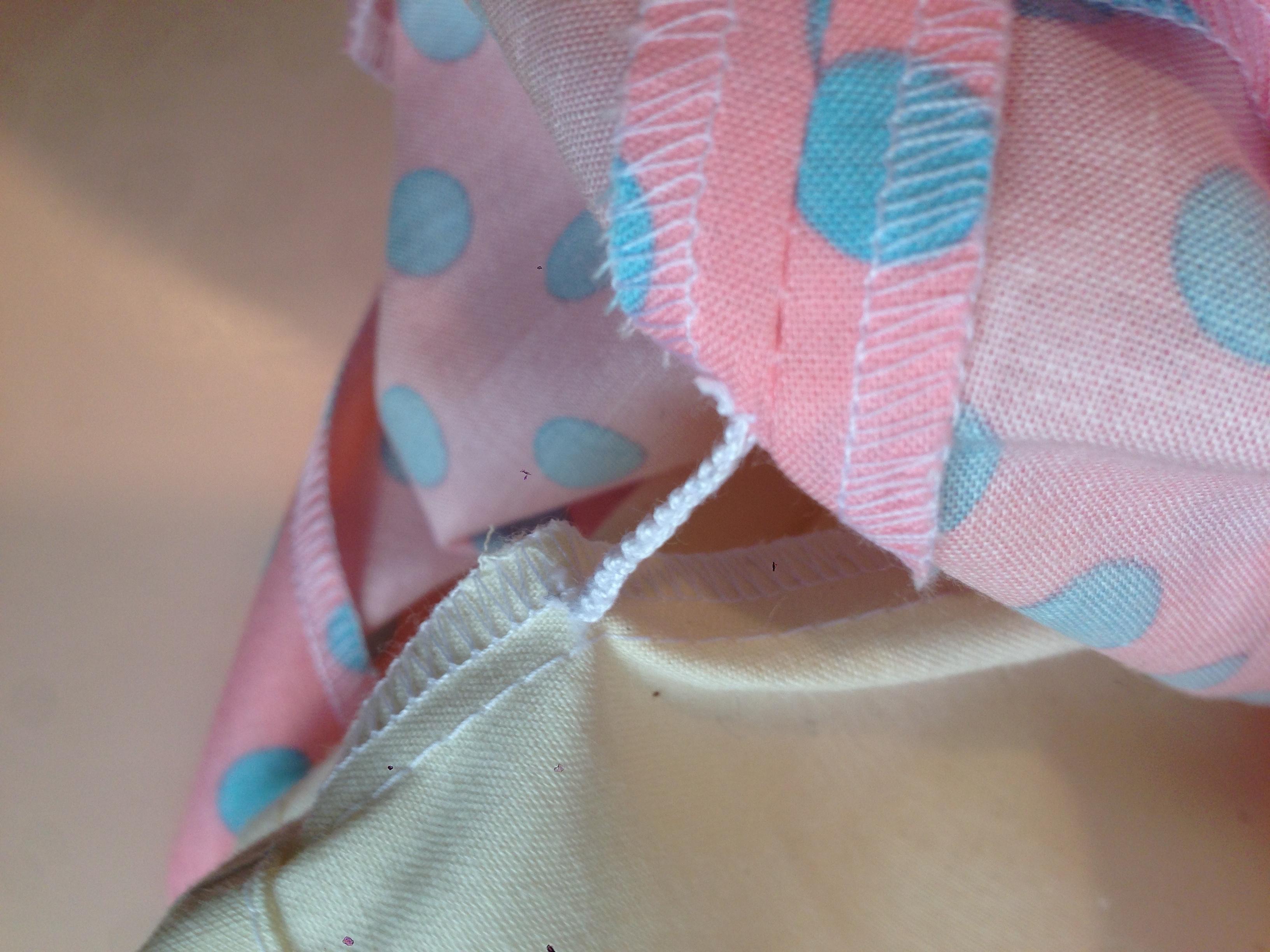 糸ループの縫い方