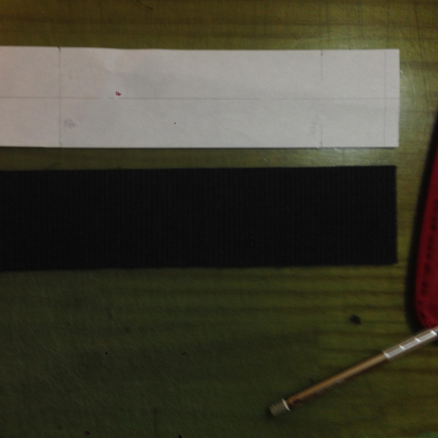 ベルト布の縫い方・3