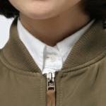 リブ衿のパターン